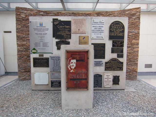 Carlos Gardel memorial