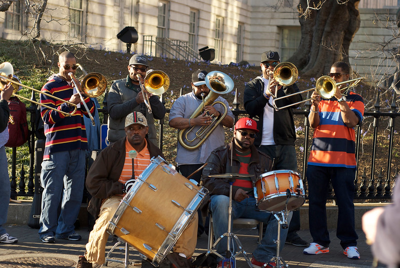 New Orleans brass band, Washington, D.C.