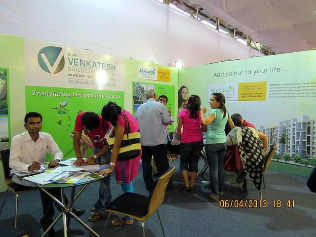 Venkatesh Buildcon - Lake Vista Ambegaon - Sharvil Dhayari - Bilwa Dhayari - Maharashtra Times Pune Property Show April 2013