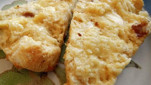 Bacon Cayenne Scones 17