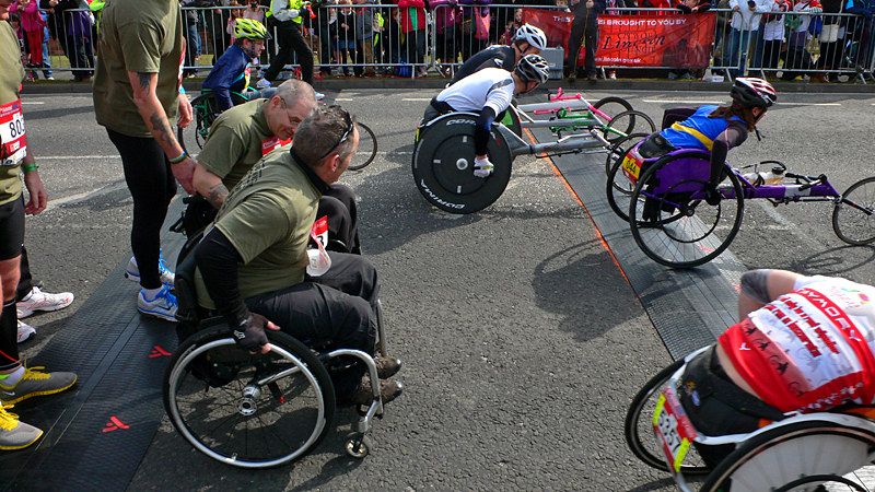 Lincoln 10k Race - Wheelchairs Are Go