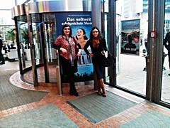 Farah und ich im SI-Centrum in Stuttgart