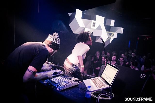 Shuanise & Nasser Wahab, sound:frame 2013 x fluc