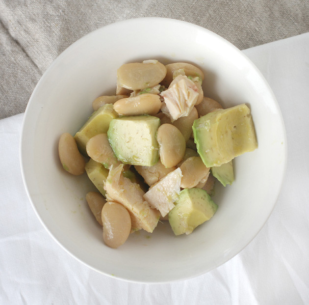 Tuna-Avocado-Butterbean-Salad