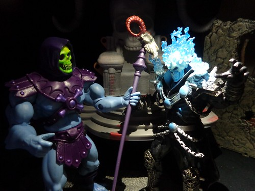 Ghost Rider Vs. Skeletor