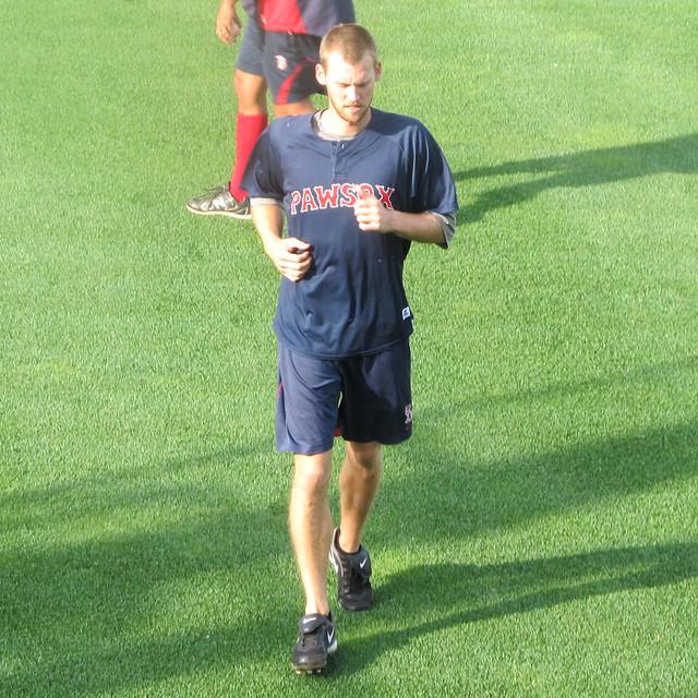 Daniel Bard Jogging