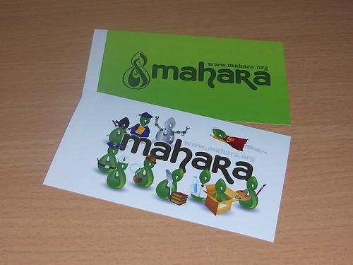 Designs of our new Mahara stickers