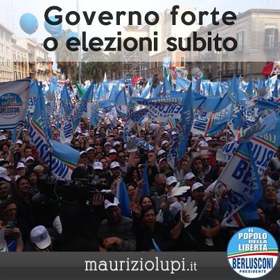 150.000 persone per Berlusconi a Bari