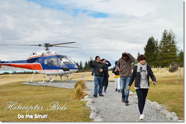 Helicopter Ride to Mt Cook