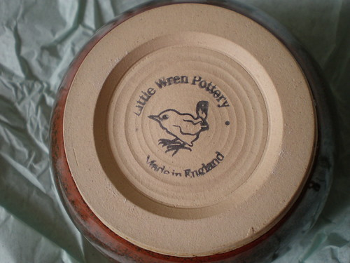 Wren Pottery Bowl