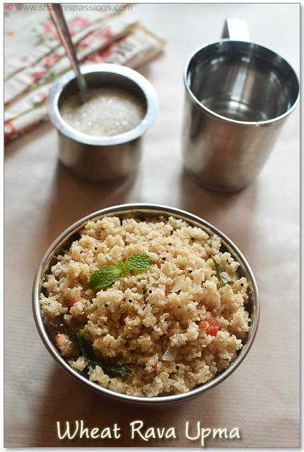 Gothuma Rava Upma Recipe