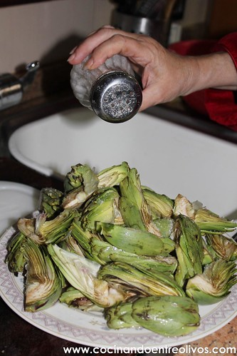 Alcachofas fritas www.cocinandoentreolivos (11)