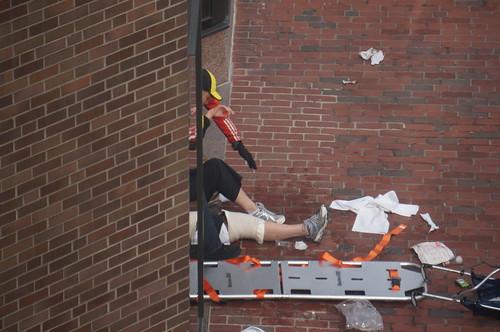 boston marathon 2013 stretcher