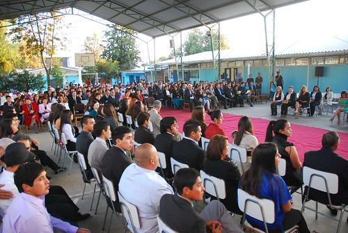 Ceremonia de Titulación del liceo Enrique Bernstein