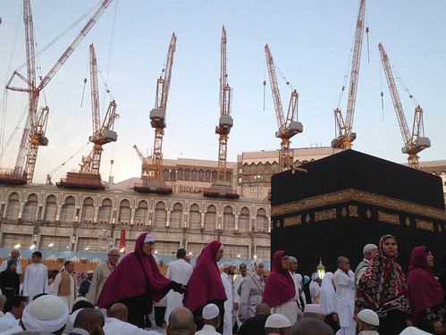 Construction at the Ka'aba