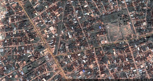 Egor LGA, Benin City, Nigeria (via Google Earth)