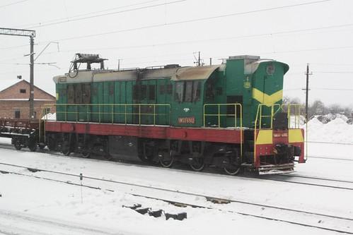 Ukrainian Railways ЧМЭ3 diesel locomotive ЧМЭ3-6902 at Koziatyn (Козятин)