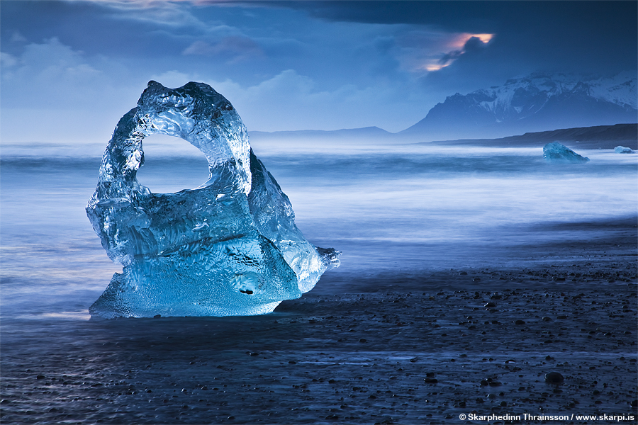 Ice Sculpture - South Iceland