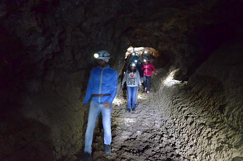 Inside Cueva del Viento