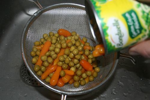 16 - Gemüse abgießen / Drain vegetables
