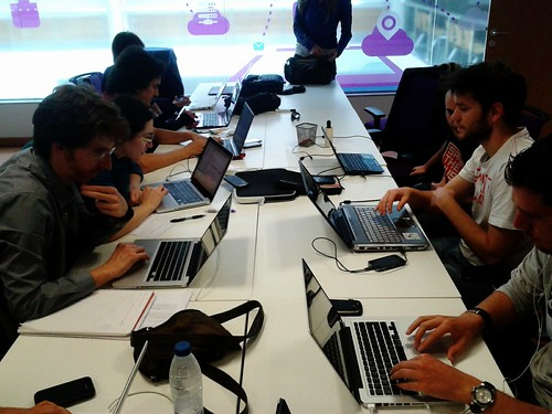 Day 20: hacking at the hackathon