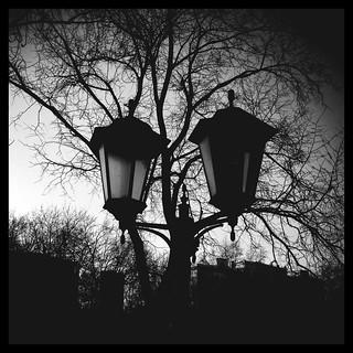Lantern. Usievicha street