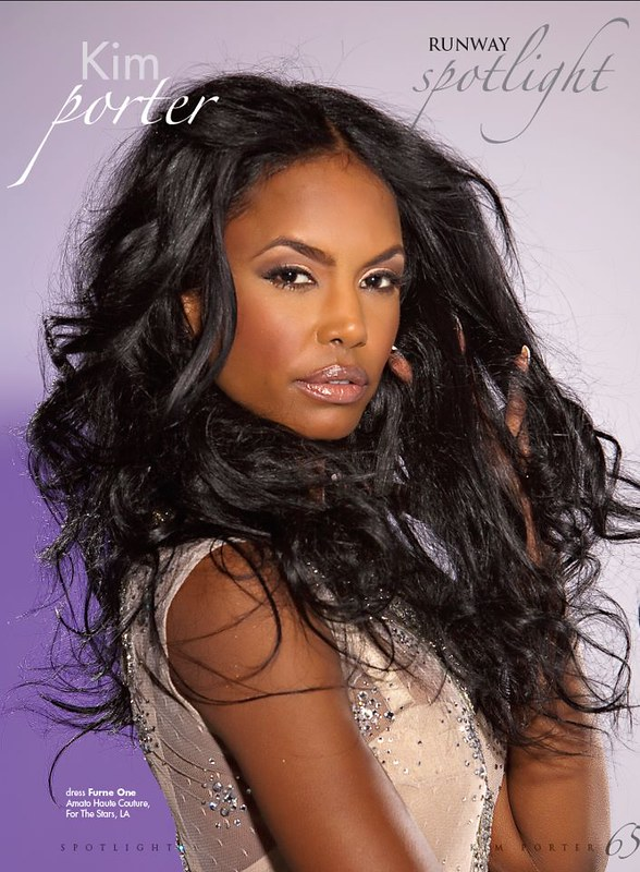 KPD Scans From Kim Porter Runway Shoot