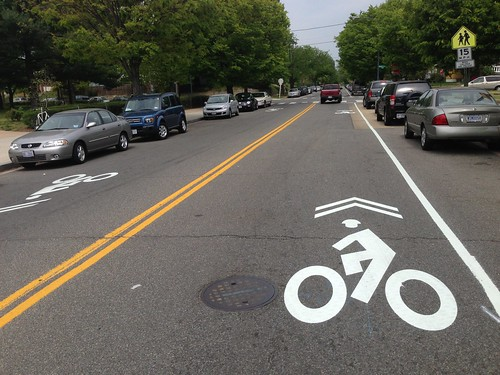 Bike Lanes come to Illinois Avenue NW in Petworth
