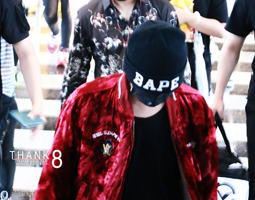 BIGBANG Arrival ICN from Malaysia 2015-07-26 HQs by GDREIRA 028