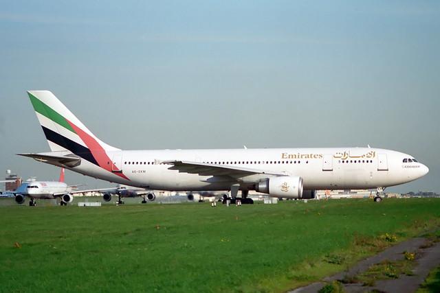 A6-EKM Airbus A.300B4-605R Emirates