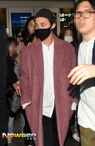 Big Bang - Incheon Airport - 22mar2015 - G-Dragon - Newsen - 03