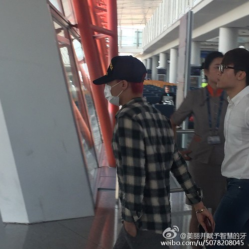 Big Bang - Beijing Airport - 07jun2015 - 美丽并赋予智慧的牙 - 03