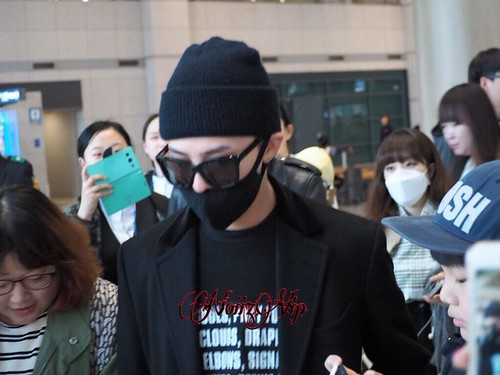 Big Bang - Incheon Airport - 10apr2015 - G-Dragon - NoiizVip - 01