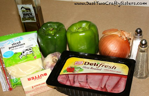 Philly Bell Pepper Ingredients