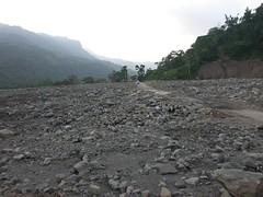 八八風災後的楠梓仙溪。(圖片來源:林務局)