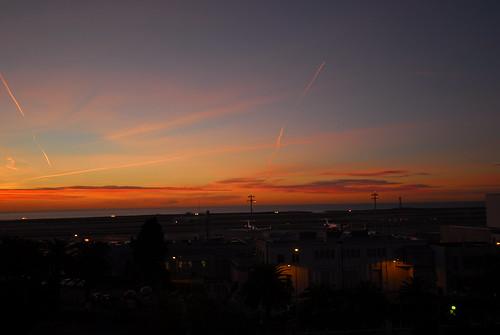 Nice,Cote d'Azur sunrise