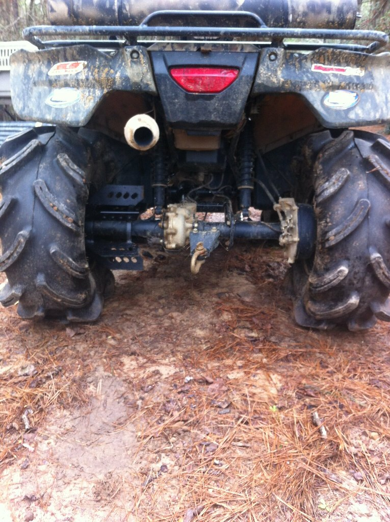 Axle Paddle Installed Honda Foreman Forums Rubicon Rincon Rancher And Recon Forum