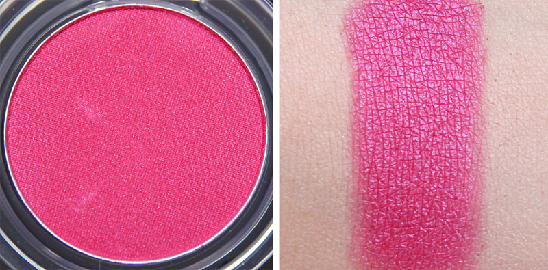 TBS berry cheeky colour crush eyeshadow swatch