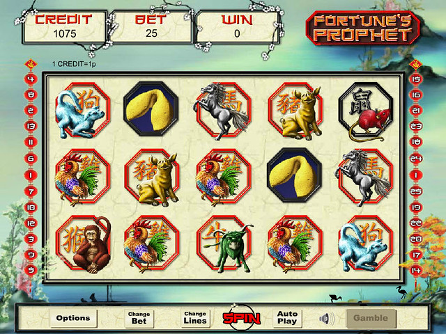 Fortunes Prophet Slot Machine - Free to Play Demo Version