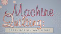 machine quilting with wendy butler berns