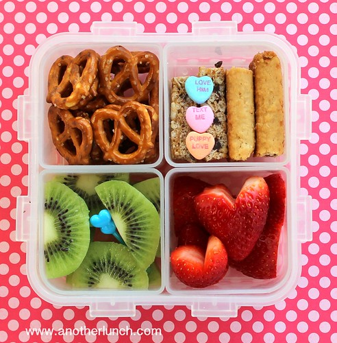 Lock and Lock box bento Valentines Day