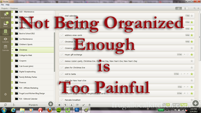 Productivity 2.0: Not Being Organized Enough is Too Painful