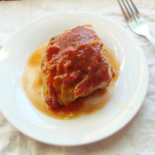 Slow Cooker Cabbage Rolls..