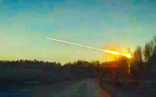 rashbre's Chelyabinsk meteorite sketch
