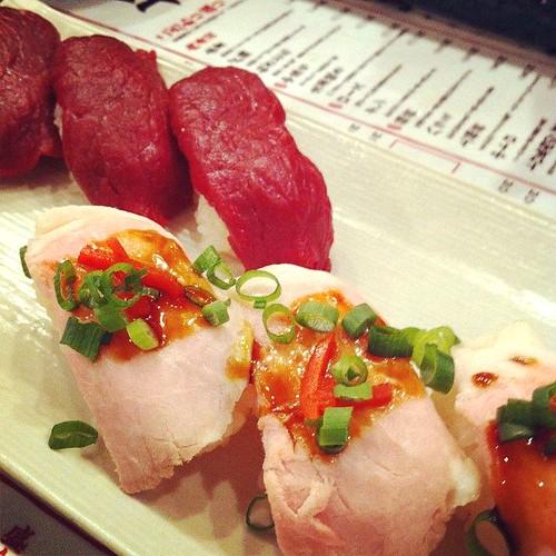 肉寿司@渋谷
