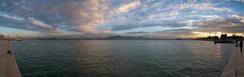 Atardecer en la bahía