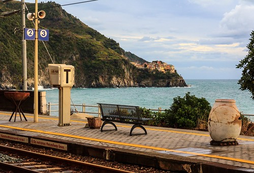 The Train Station With The World's Best View? Corniglia in Cinque Terre Italy