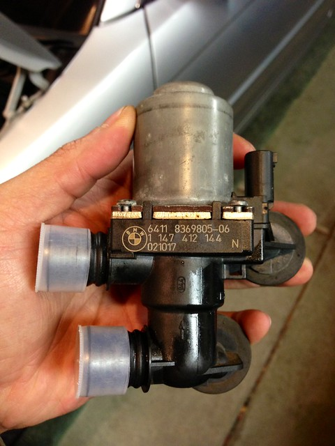 Old Water Heater Valve