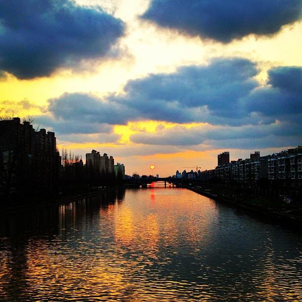 #shanghai night 夜幕下的申城