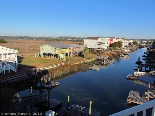 docks canal dock northcarolina marsh waterway intercoastalwaterway holdenbeach